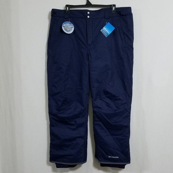 Columbia Mens XXL 2X Short Snow Snowboard Pants